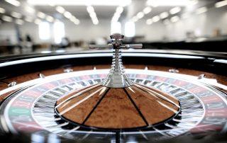 Gambee Roulette Wheel detail